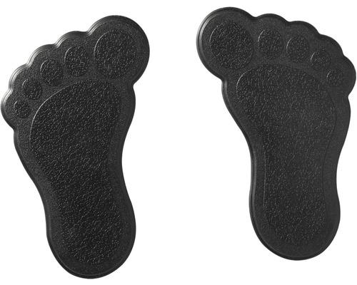 Mini Tapis antidérapant pour baignoire RIDDER pieds 11 x 13 cm noir