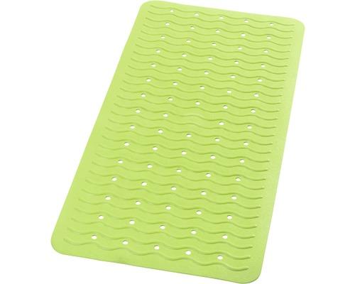 Tapis antidérapant pour baignoire RIDDER Playa 38 x 80 cm vert