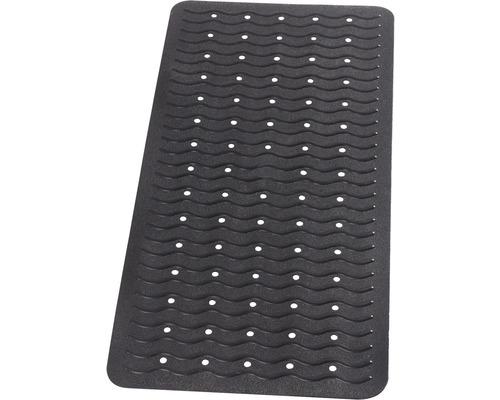 Tapis antidérapant pour baignoire RIDDER Playa 38 x 80 cm noir