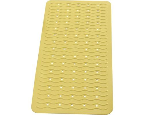 Tapis antidérapant pour baignoire RIDDER Playa 38 x 80 cm jaune