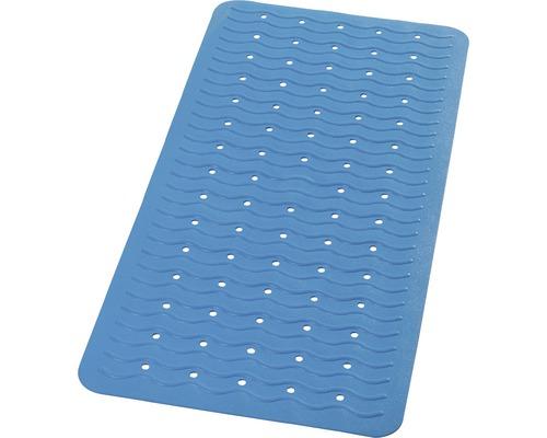Tapis antidérapant pour baignoire RIDDER Playa 38 x 80 cm bleu