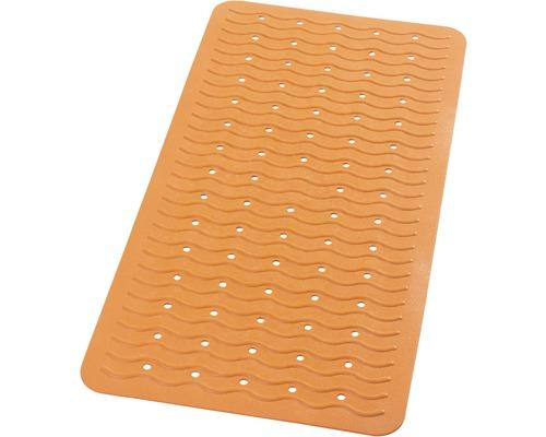 Tapis antidérapant pour baignoire RIDDER Playa 38 x 80 cm orange