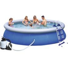 Kit de piscine ronde à pose rapide Bestway Fast-Set Ø 366cm, hauteur 91cm-thumb-1