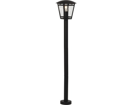Lampadaire extérieur 1 ampoule H 1000mm Riley noir