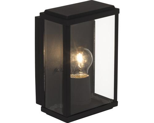 Applique extérieure 1 ampoule H250mm Gaia noir