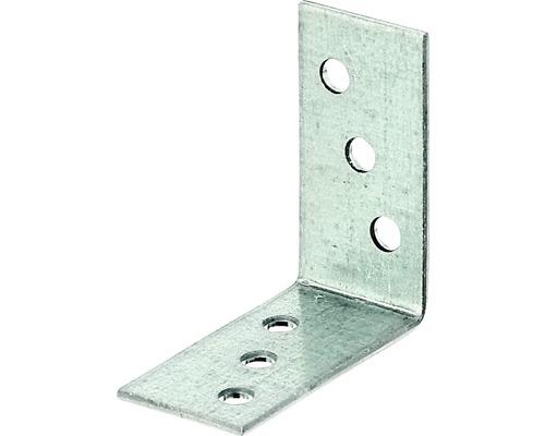 Winkelverbinder 40 x 40 x 20 mm, sendzimirverzinkt, 1 Stück