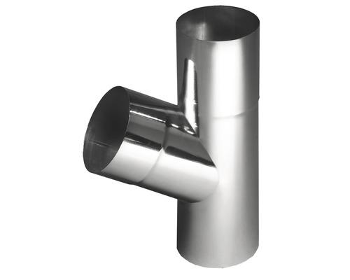Dérivation de tuyau 60° zinc NW 100mm dérivation 80mm