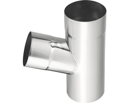Dérivation de tuyau 72° zinc NW 100mm dérivation 100mm