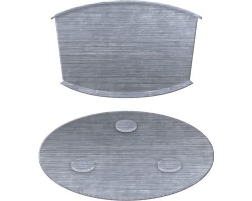 Kit de fixation aimanté pour détecteur de fumée Ø 80mm