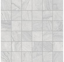 Mosaïque en grès cérame Varana Gris 30x30cm-thumb-0