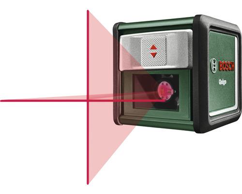 Laser à lignes croisées Bosch DIY Quigo avec accessoires