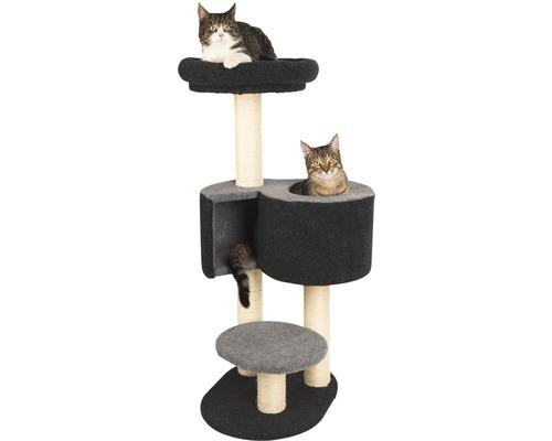 Arbre à chats KERBL Fridolin en feutre 53x32x106cm gris