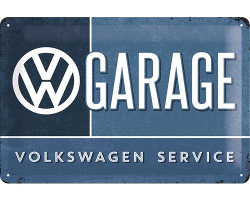 Plaque en métal VW Garage 20x30 cm