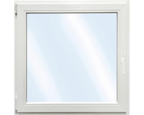 Fenêtre en PVC ARON Basic blanc 1000x1000mm tirant gauche