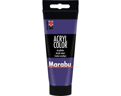 Peinture acrylique pour artiste Marabu Acryl Color 251 violet 100ml