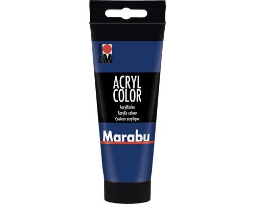 Peinture acrylique pour artiste Marabu Acryl Color 053 bleu foncé 100ml