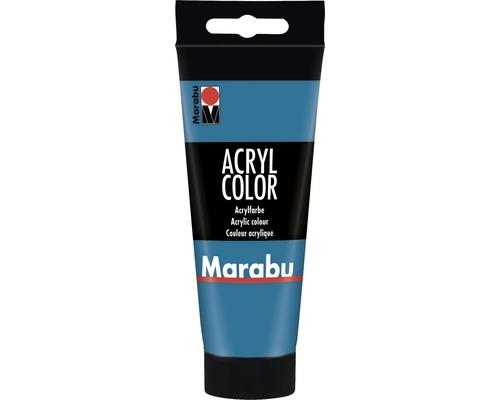 Peinture acrylique pour artiste Marabu Acryl Color 056 cyan 100ml