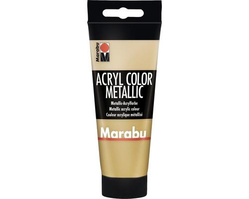 Peinture acrylique pour artiste Marabu Acryl Color 084 or 100ml