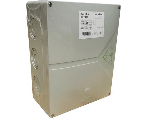 Boîte de raccordement pour pièce humide Spelsberg 250x200x115mm grise sans bornes 82591001