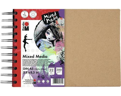Cahier à spirales Marabu Mixed Media DINA5