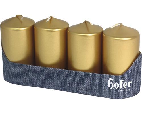 Bougie de pilier 40 x 80 mm or 4 pcs
