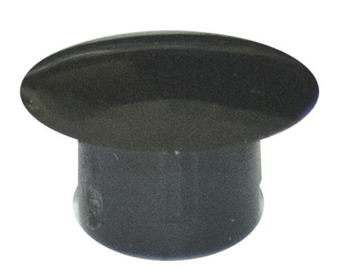 Cache de recouvrement 5x8 mm noir 100 unités
