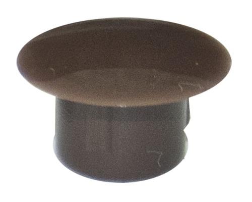 Cache de recouvrement 10x13 mm brun foncé 100 unités