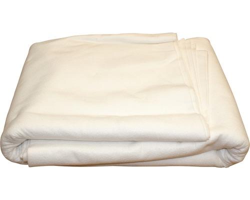 Intissé de protection du fond pour piscine Extra 5x5m blanc