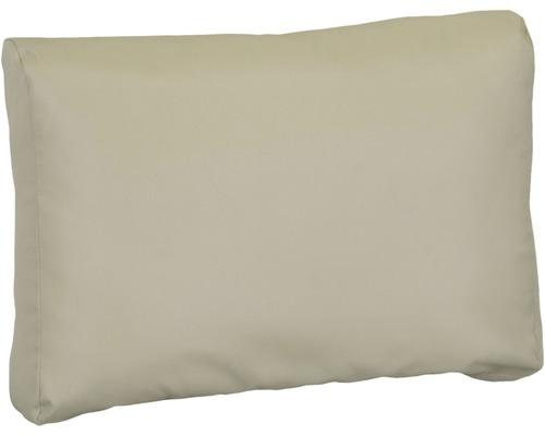 Palettenkissen für Rückenfläche Premium 60x40 cm Polyester beige