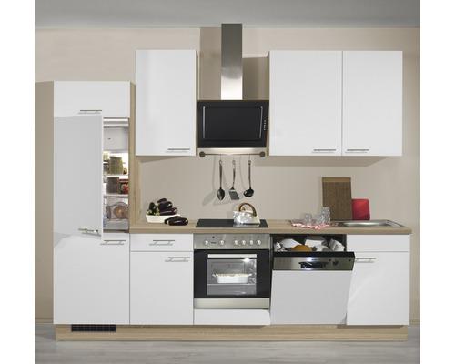 Küchenzeile Sonera 280 cm, alle Schränke vormontiert inkl ...