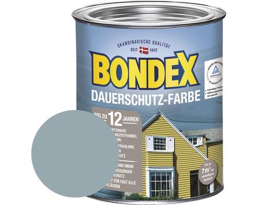 BONDEX Holzfarbe-Dauerschutzfarbe lagunenblau 750 ml