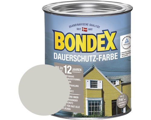 BONDEX Holzfarbe-Dauerschutzfarbe stein beige 750 ml