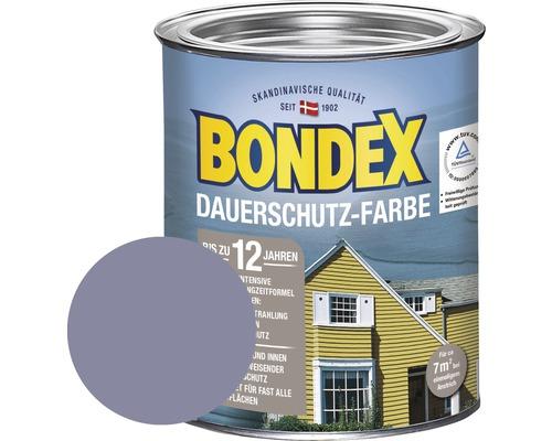 BONDEX Holzfarbe-Dauerschutzfarbe finnischblau 750 ml