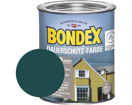 BONDEX Holzfarbe-Dauerschutzfarbe moosgrün 750 ml