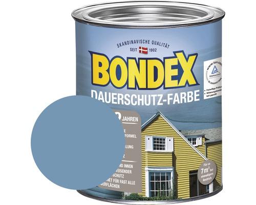BONDEX Holzfarbe-Dauerschutzfarbe taubenblau 750 ml