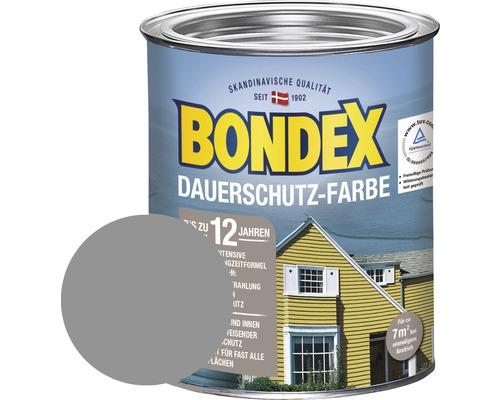 BONDEX Holzfarbe-Dauerschutzfarbe platinium 750 ml