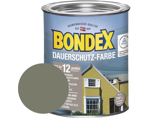 BONDEX Holzfarbe-Dauerschutzfarbe terra 750 ml