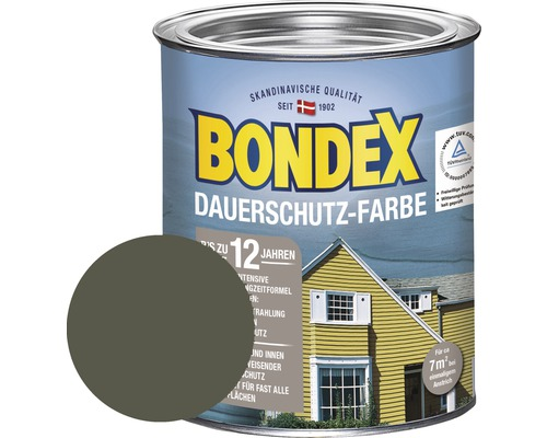 BONDEX Holzfarbe-Dauerschutzfarbe norge grün 750 ml