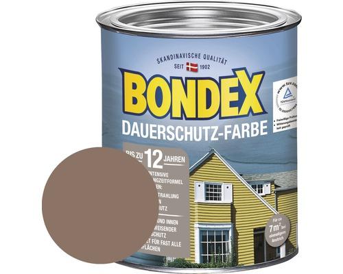 BONDEX Holzfarbe-Dauerschutzfarbe sahara 750 ml