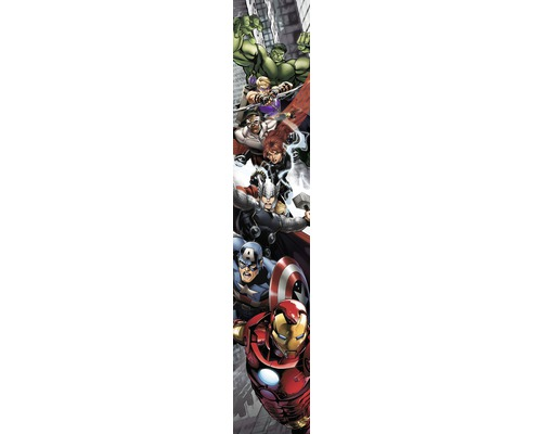 papier peint photo intiss panneau marvel avengers 50 x 280 cm hornbach luxembourg. Black Bedroom Furniture Sets. Home Design Ideas
