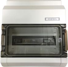 Coffret électrique Hensel 1 rangée 12 unités modulaires gris KV9112-thumb-0
