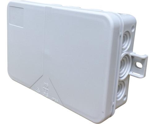 Boîte de raccordement pour pièce humide Spelsberg 130x85x37mm grise sans bornes 33391601