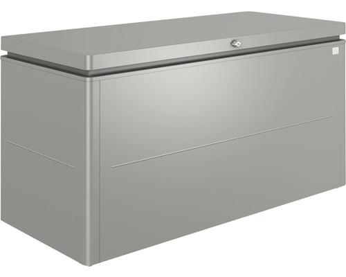 Boîte de rangement biohort LoungeBox 160, 160x70x83.5 cm gris quartz-métallique