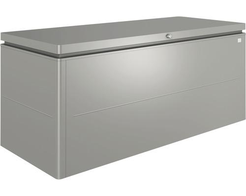 Boîte de rangement biohort LoungeBox 200, 200x84x88.5 cm gris quartz-métallique