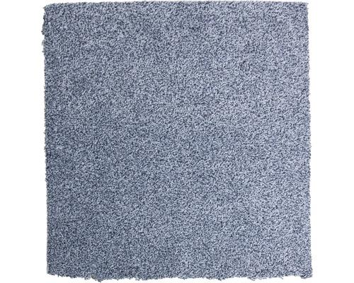 Teppichboden Shag Bravour blaugrau 400 cm breit (Meterware)